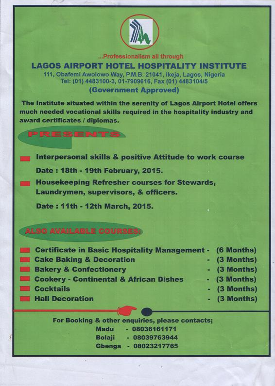 Our Hospitality Institute